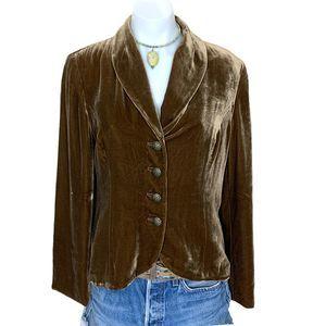 Vintage Felicia & Company Velvet Waistcoat Blazer